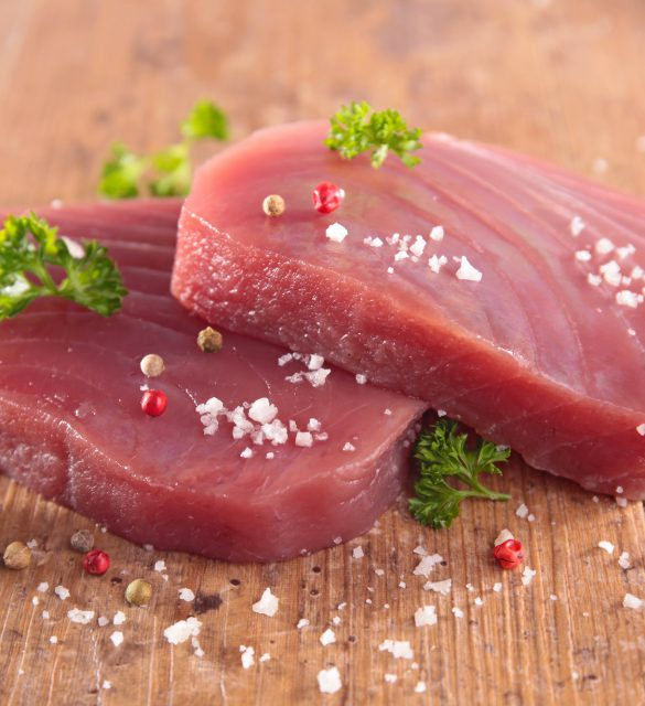 tuna fish fillet