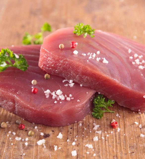 tuna fish fillet
